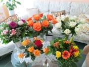 Blumenpracht zum 80.
