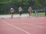 Endlauf 100 Meter