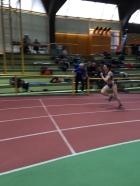 Tanja beim 200-Meter-Lauf