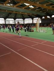 Ludwig beim 400-Meter-Lauf