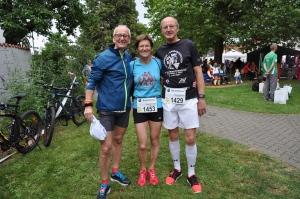 mit Rosmarie und Reinhold, die Laufasse aus AB
