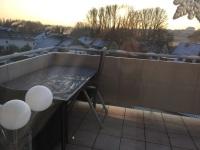 Eisiger Morgen.